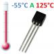Sensor de temperatura DS18B20 (-55°C a 125°C)