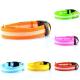 Collar Para Mascotas Con Led - Naranja Talla Mediana