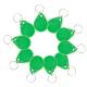 Llavero RFID 13.56Mhz Verde