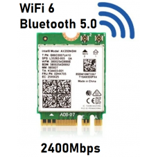 Tarjeta de red WiFi 6 BT 5.0 AX200NGW